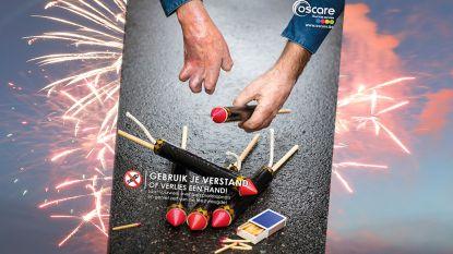 Verknal uw feest straks niet: zelf vuurwerk afsteken is gevaarlijk