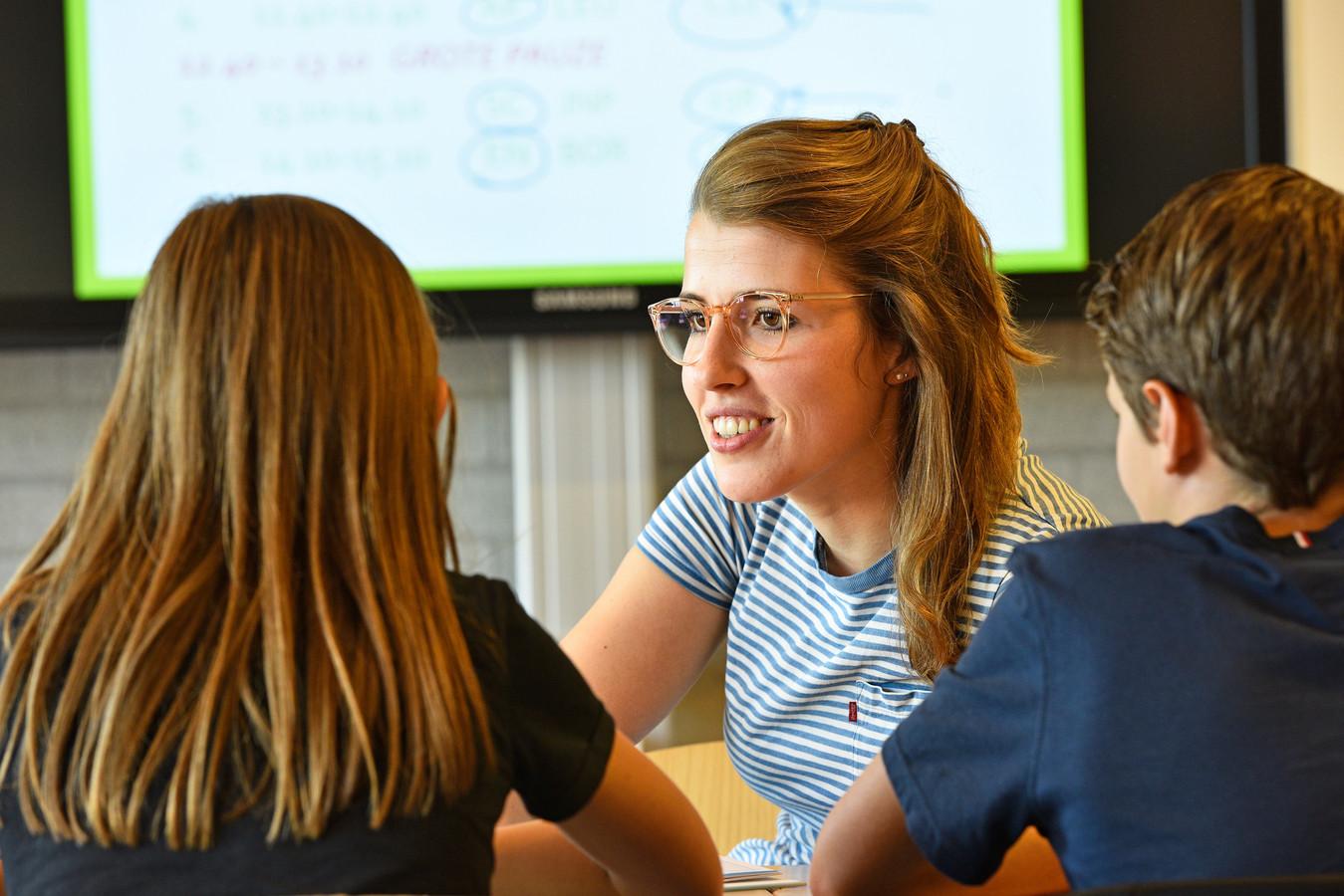 De leraar op het Maaslandcollege in Oss wordt meer een coach.