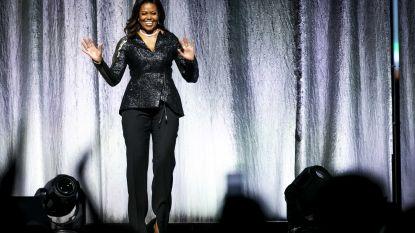 Hoe Michelle Obama een laatste keer Europa veroverde