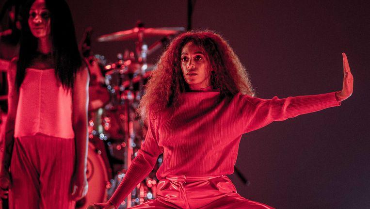 Solange, hier op de tweede dag van het North Sea Jazz-festival in Rotterdam.