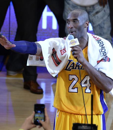Handdoek Kobe Bryant voor ruim 32.000 dollar geveild