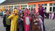 Kinderen De Zonnevlier doen mee aan pyjamadag