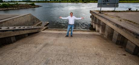 Trailerhelling Loswal in Wijhe blijft steil ondanks petitie: 'Hij is niet aangelegd voor recreatief gebruik'