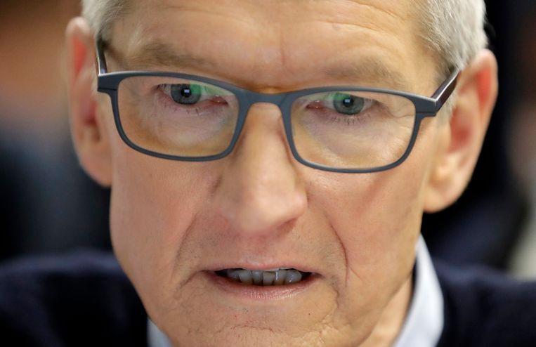 CEO van Apple, Tim Cook.