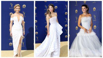 Ladies in white: de best geklede sterren op de gouden loper van de Emmy's