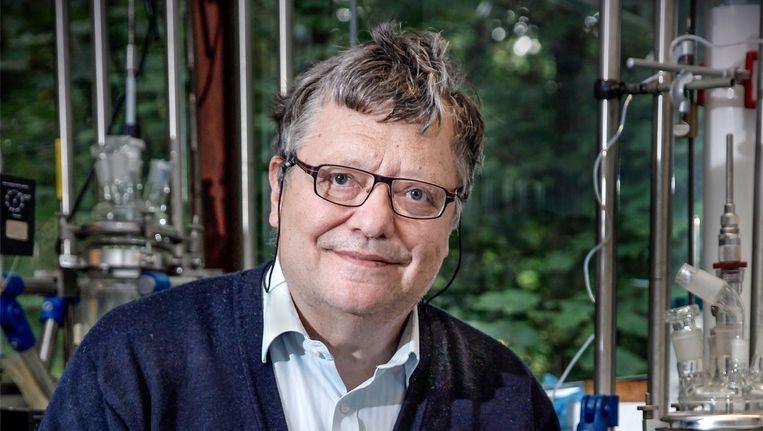 Bierprofessor Guy Derdelinckx Beeld Het Parool/Rob Stevens
