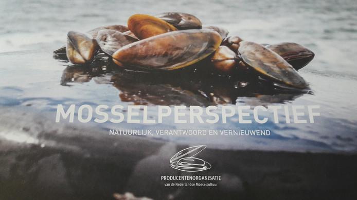 Foto van de brochure Mosselperspectief.