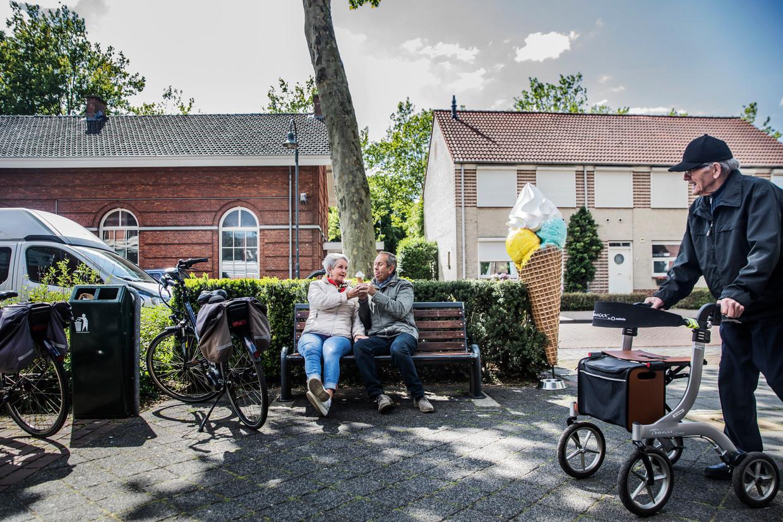 'Alle ogen zijn nu gericht op de opening van restaurants en terrassen op 1 juni.' zegt burgemeester Theo Weterings van Tilburg. Beeld Aurélie Geurts