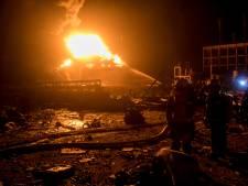 Meer dan veertig doden door explosie chemische fabriek China