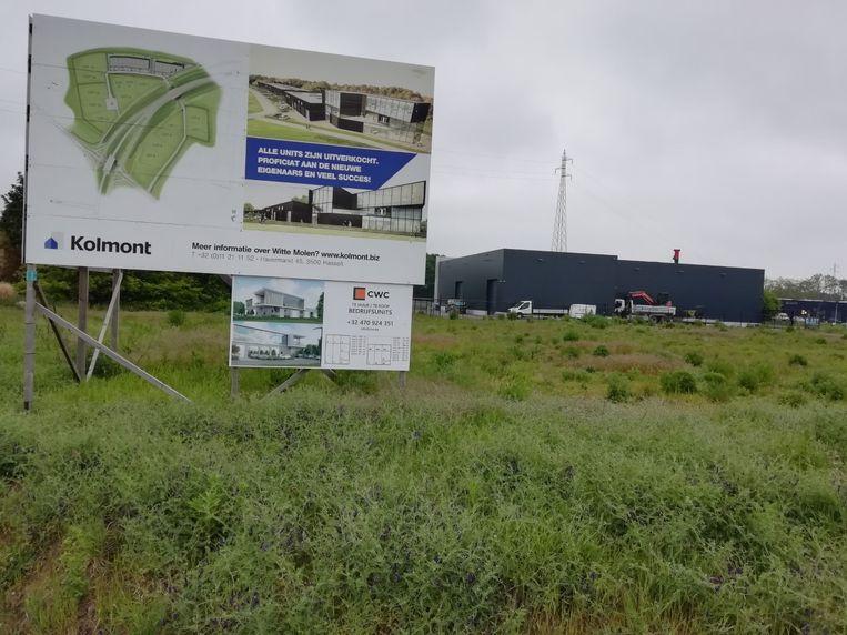 Het bedrijvenpark Witte Molen is erg gegeerd bij lokale kmo's