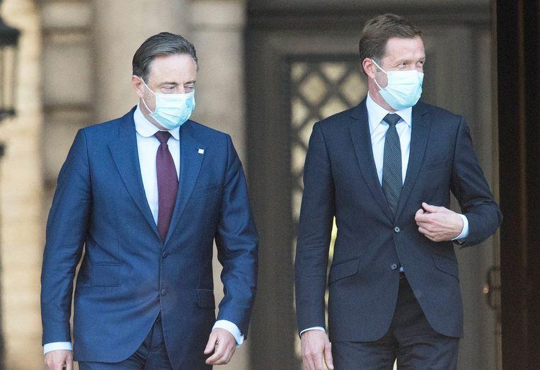 Bart De Wever (N-VA) en Paul Magnette (PS)