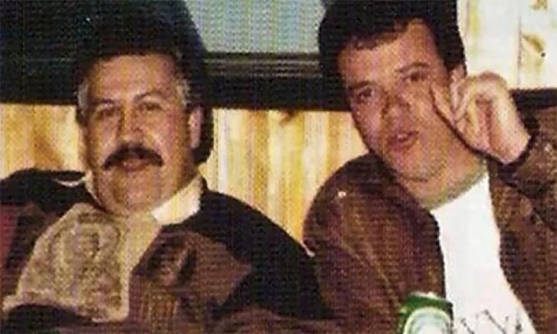 John Jairo Velásquez (rechts), hier samen met de Pablo Escobar.