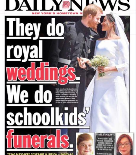 'Zij vieren royal weddings, wij begraven schoolkinderen'