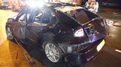Auto ontploft nadat man stevig tekeer gaat met luchtverfrisser en dan sigaret opsteekt