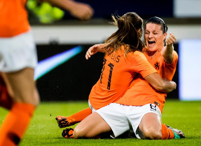 Sherida Spitse is met 152 interlands de meest ervaren speelster van Oranje.