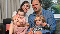 Babette (4) was kritiek na botsing en werd gered door MUG-heli, nu zamelen ouders en kennissen geld in voor de Warmste Week
