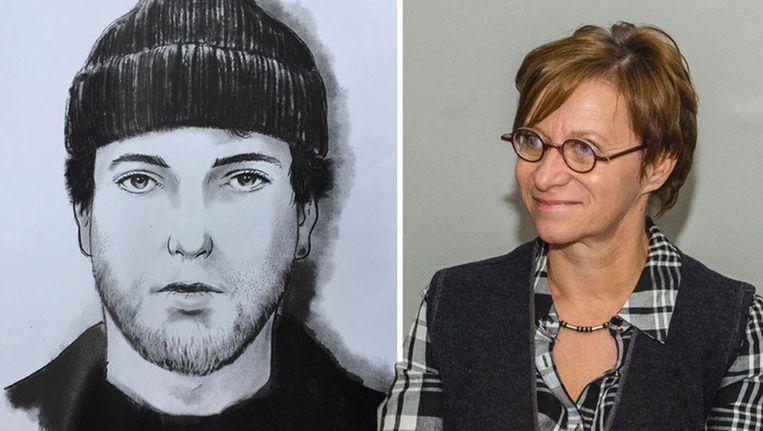 De politie is nog altijd op zoek naar een blanke man van ongeveer 1,84 meter groot, die rond het tijdstip van de feiten werd opgemerkt in de winkel.