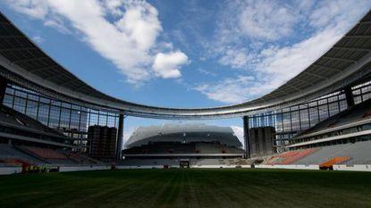 VIDEO: Hopelijk spelen Duivels in Rusland niet hier: zie jij wat er mis is met dit WK-stadion?