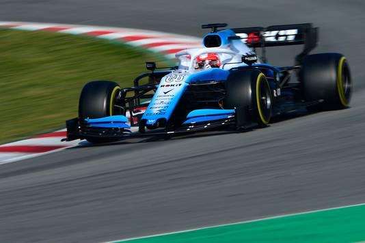 Robert Kubica in de Williams