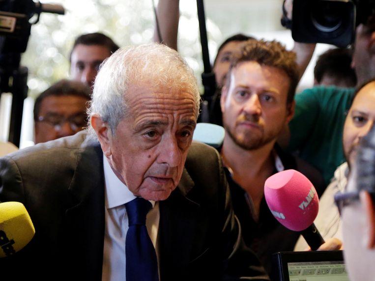 Rodolfo D'Onofrio, voorzitter van River Plate.