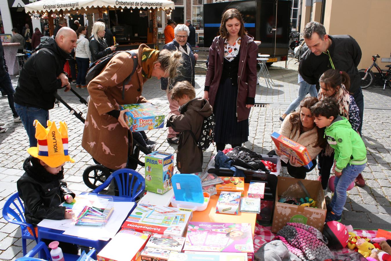 Dit jaar geen vrijmarkt in Bergen op Zoom.