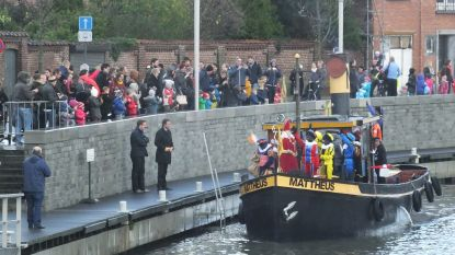 Sinterklaas en zijn zwarte pieten komen zaterdag aan in Deinze