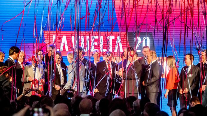 Onder belangstelling van internationale pers en hoogwaardigheidsbekleders werden in februari de eerste 3 etappes van de Vuelta 2020 gepresenteerd.