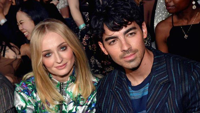 Sophie Turner et Joe Jonas juste avant leur union.