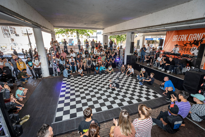Hiphop festival Urban Matterz in Helmond, afgelopen september onder de Kasteel-Traverse.