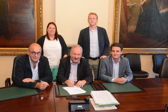 vandaag werd al een akkoord bereikt tussen CD&V en N-VA