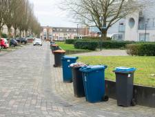 Ergernis over 'zwervende' afvalcontainers in Apeldoorn