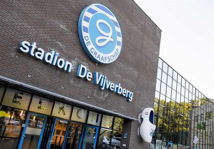 Stadion De Vijverberg in Doetinchem.