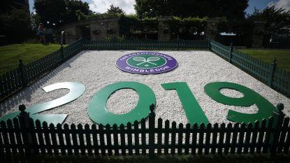 Zes Belgen komen maandag in actie in eerste ronde Wimbledon