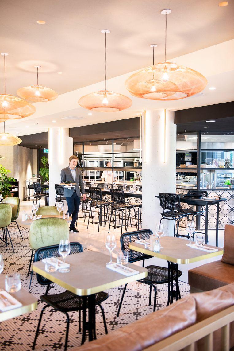 Restaurant Persijn in Amsterdam serveert Hollandse gerechten in een nieuw jasje. Beeld Els Zweerink