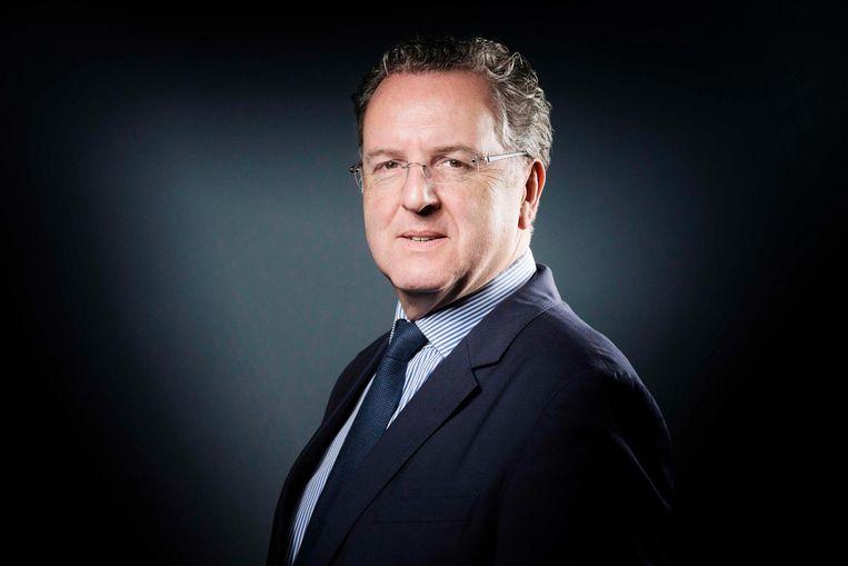Richard Ferrand: 'Het nepnieuws wordt opgepikt, geciteerd en beïnvloeden het democratische proces'. Beeld AFP