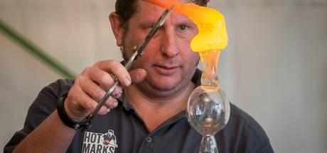 Glassculptuur gestolen bij glasblazerij in Ootmarsum