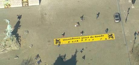 De Ronde: de Grote Markt in Antwerpen, waar de Ronde van Vlaanderen normaal vertrekt