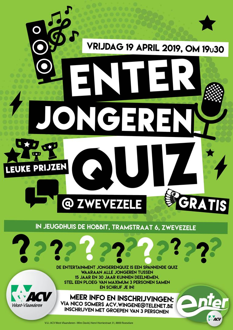 Enter Jongeren Quiz