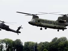 Helikopters Defensie gaan 's nachts vliegen