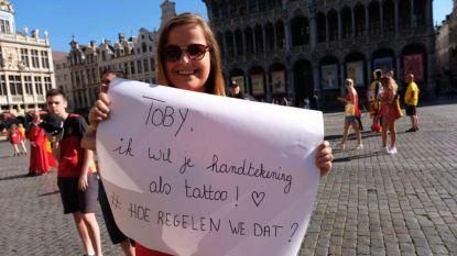 Toby, we hebben het tattoo-meisje gevonden