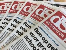 Verkeerde edities de Stentor bezorgd vanwege problemen in drukkerij