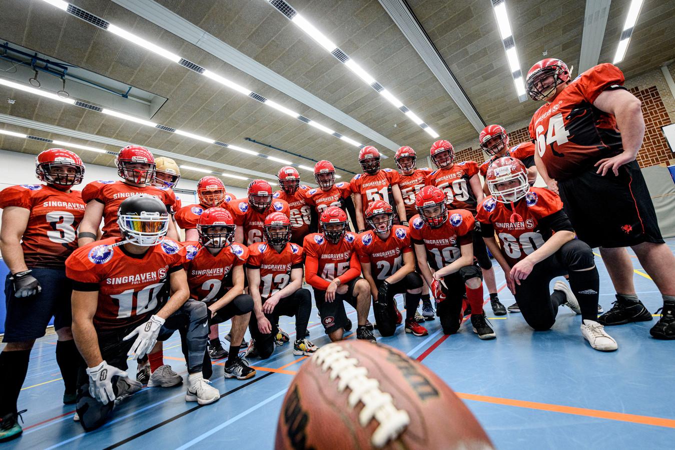 Enschede Broncos is de enige American Football club van Oost-Nederland.