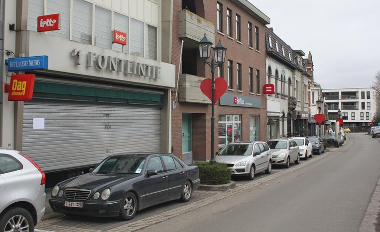 Krantenwinkel 't Fonteintje bleef gisteren gesloten.