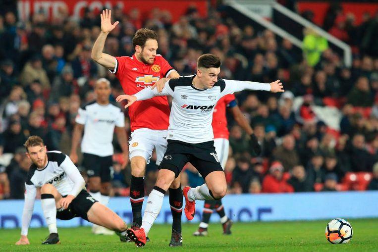 Daley Blind in actie voor Manchester United Beeld anp