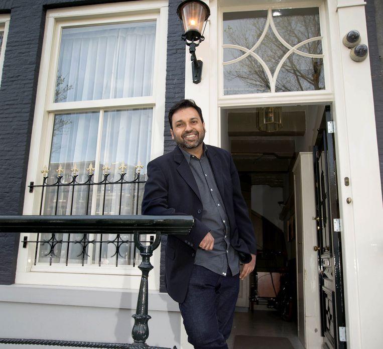 Ali Rizvi schreef het boek De atheïstische moslim. Beeld Maartje Geels