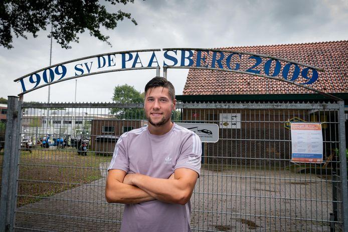 Nick Buijl  presenteert zich bij De Paasberg.