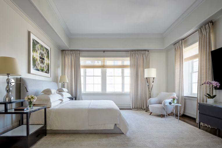 De slaapkamers zijn licht en ruim.
