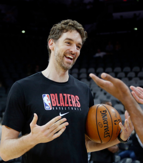 Zesvoudig All Star Gasol levert contract in bij Trail Blazers