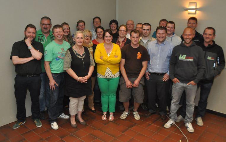De organisatoren van Bruisend Baasrode.