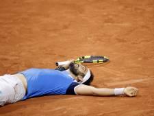 Giustino na 74 games door naar tweede ronde Roland Garros